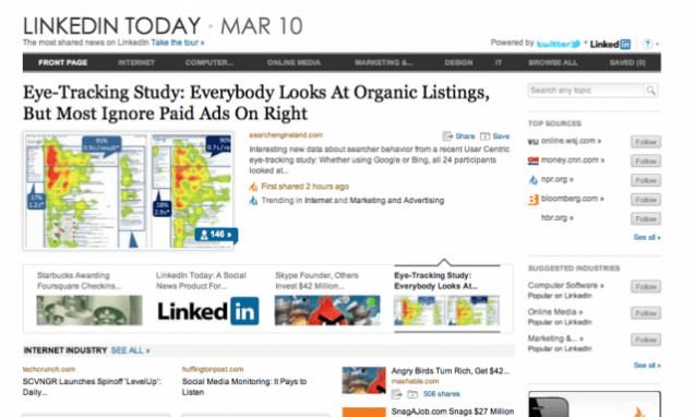Can LinkedIn Today Be a Real Player in the Social Aggregation Space?