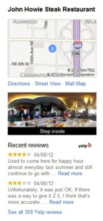 yelp bing local agreement