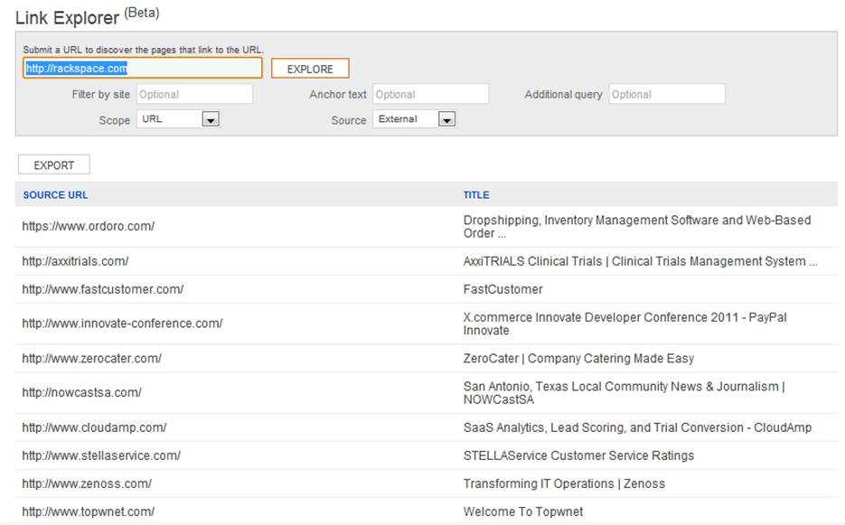 How to Use the New Bing Links Explorer