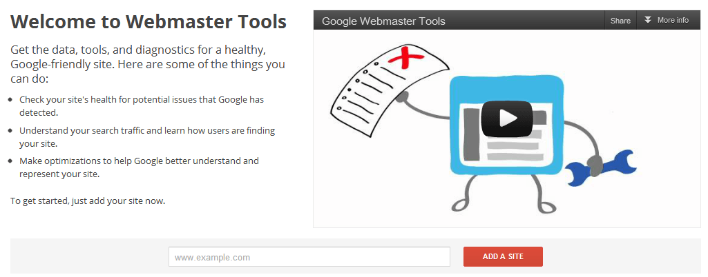 how to use google s webmaster tools program to check your  how to use google s webmaster tools program to check your website s health search engine journal