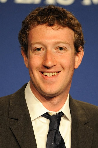 Mark Zuckerberg, Founder & CEO of Facebook, at the press conference about the e-G8 forum during the 37th G8 summit […]