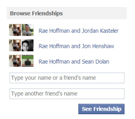 "Not Liking the New Facebook ""Browse Friendships"" Function"