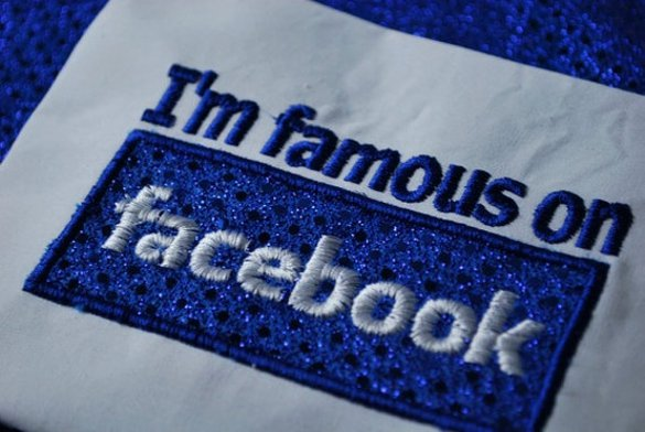 Facebook embroidered shirt