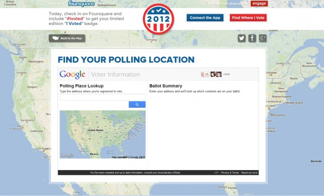 Where Do I Go To VOTE? Links to Polling Locators