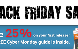 Black Friday Daily Deal: PRWeb SEO Press Release 25% Off & Freebie