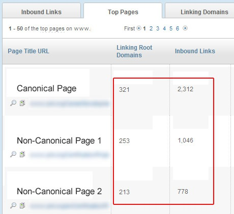 Link Audits Uncovering Canonical Problems
