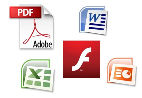 File Formats Being Linked To