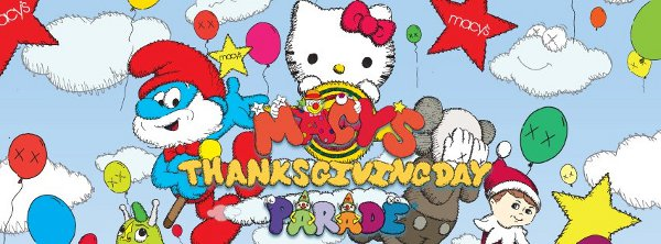 Macy's Thanksgiving Day Parade banner