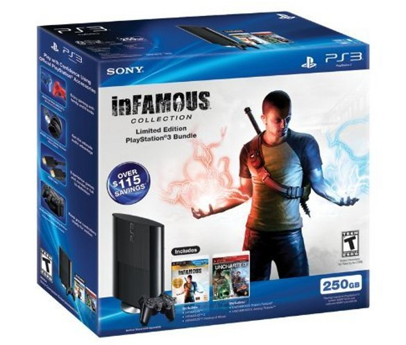 PS3 250GB Combo Pack Bundle