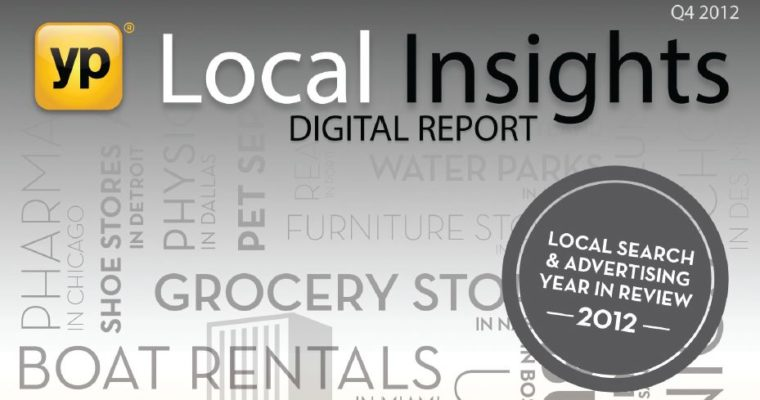 YP.Com Insights Report Highlights Growing Tide of Local Search