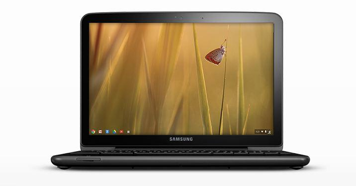 The Samsung Series 5 Chromebook