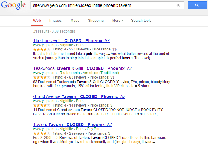 google-search-broken-local-links