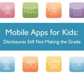 FTC Views Mobile Apps Lacking in Child Friendliness