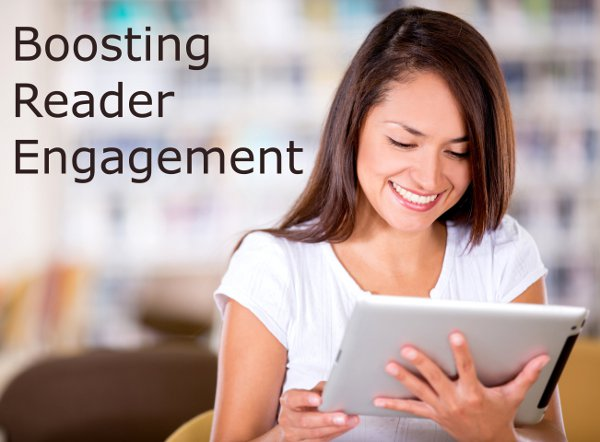 Boosting reader engagement