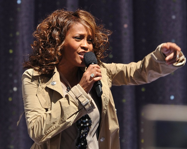 Whitney Houston topped Google's list of global search trends for 2012