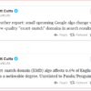Misconceptions about Google Search Algorithm Updates and the Disavow Links Tool