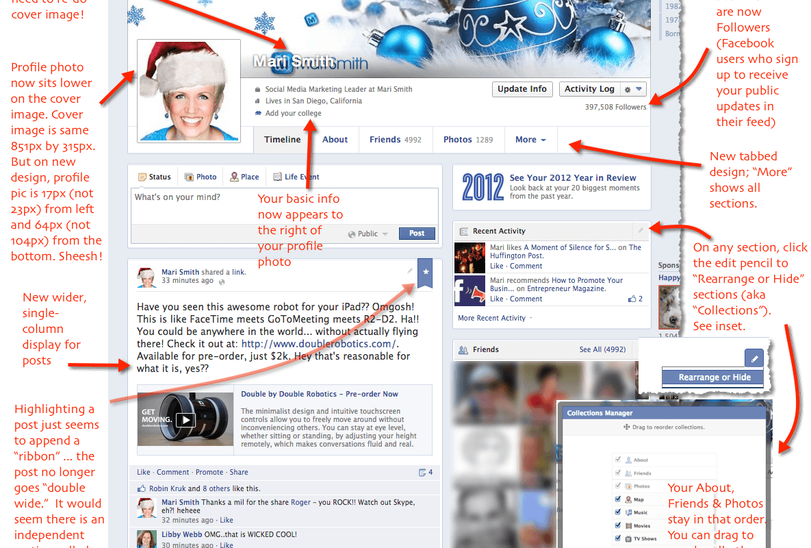 #Facebook Timeline Redesign Rolls Out in New Zealand