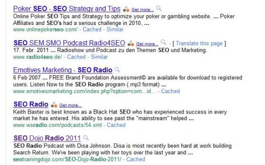 Google Social Search; the Lost Update