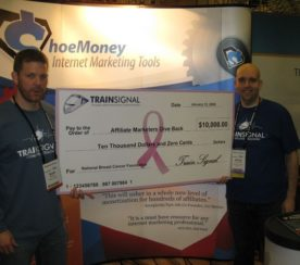 ShoeMoney Hits the $80,000 Mark for Charity