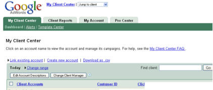 How to Add and Subtract Clients from AdWords My Client Center