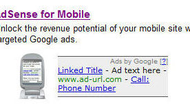Google AdSense Mobile Launches in Beta