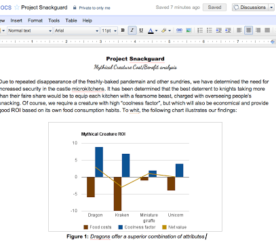 Google Docs Adds New Charts & Chart Options