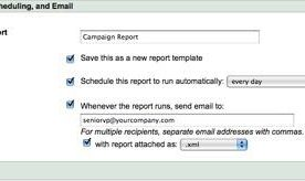 Sending Customized Reports in Google AdWords