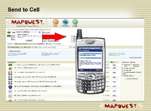send text page to cell phone