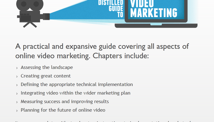 You're Invited: Soft Launch of Distilled's Video Marketing Guide