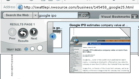 Viewpoint Search Toolbar for Internet Explorer : A class apart