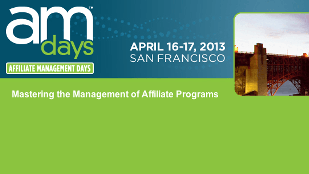 SEJ Attending Affiliate Management Days San Francisco