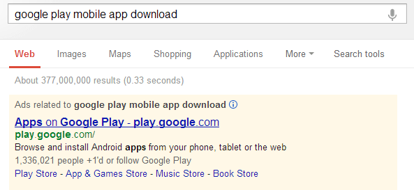 google play mobile app download