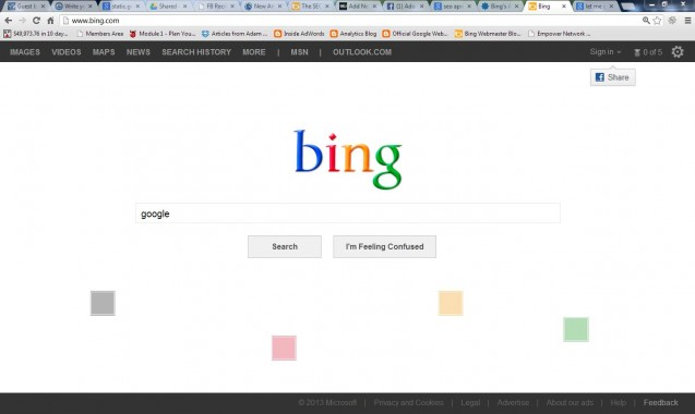 Bing is Now Google