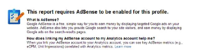 enable adsense
