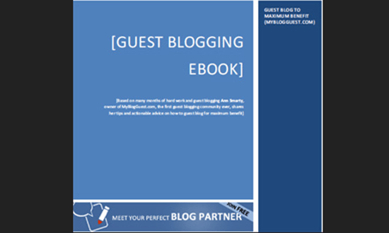 Guest Blogging eBook