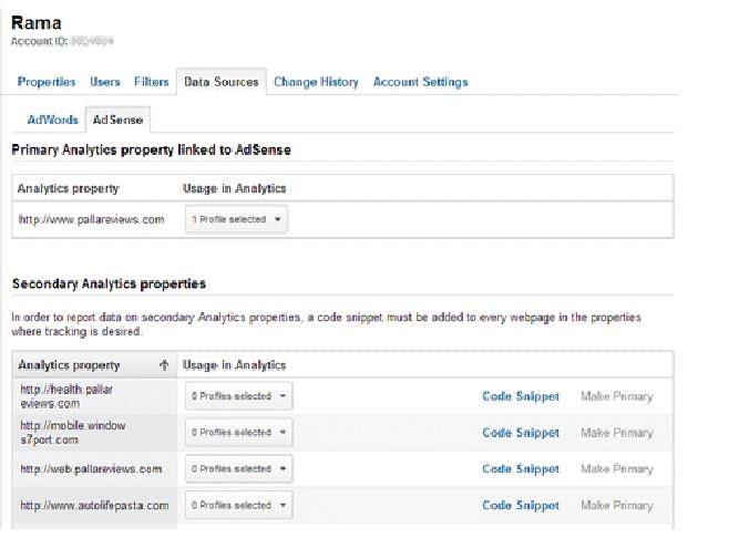 How To Enable Adsense Reporting in Analytics for Multiple