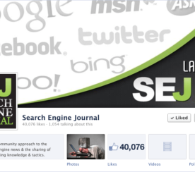Search Engine Journal Hits 40K Facebook Fans