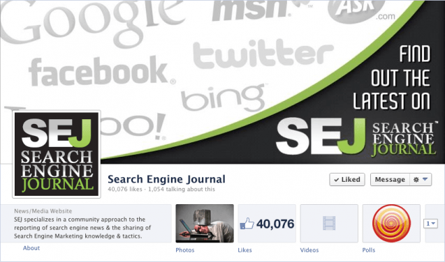 Search Engine Journal Facebook 40k