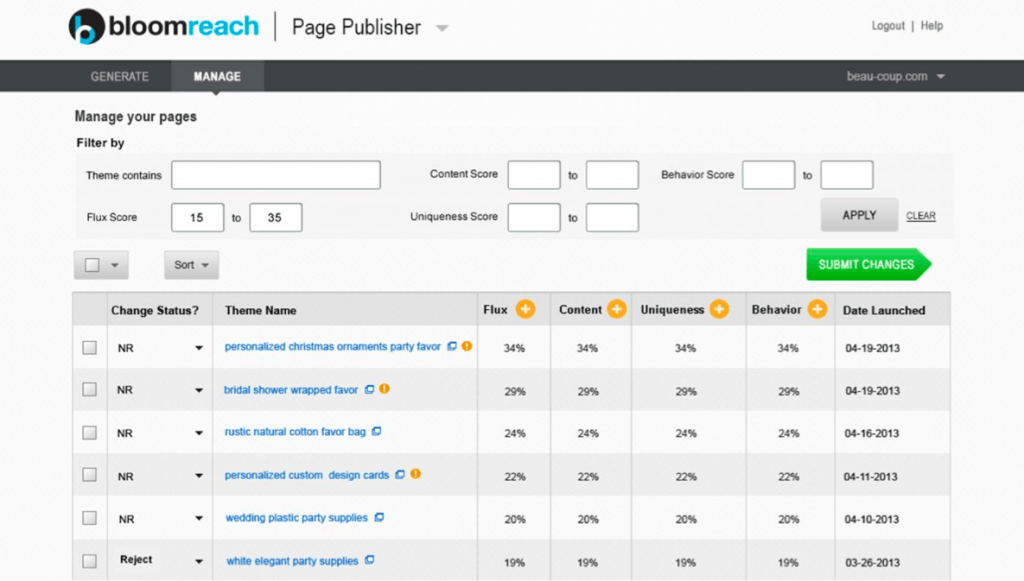 bloomreach page manager