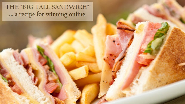The 'Big Tall Sandwich' A Recipe For Winning Online