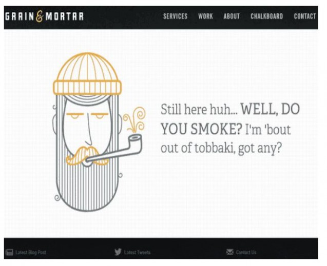 grain and mortar 404 page