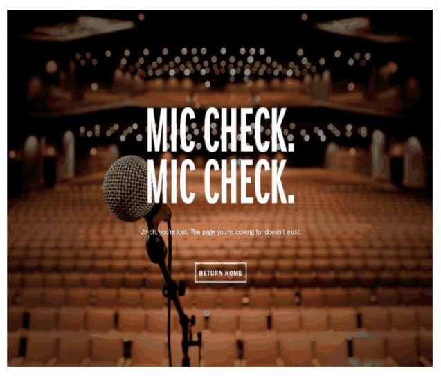 mic check 404page