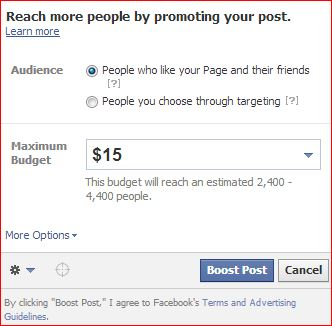 promoting your post