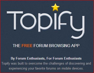 the free forum browsing app