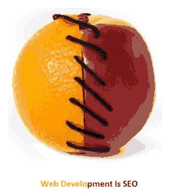 web development is seo