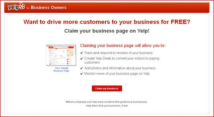 yelp business owners