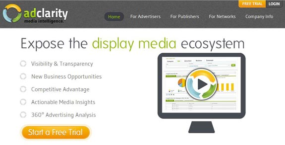 AdClarity Enhances Media Intelligence Platform With New Toolbar