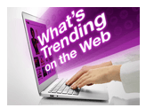 what's trending on the web
