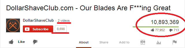 DollarShaveClub.com   Our Blades Are F   ing Great   YouTube