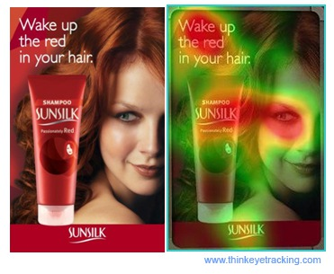 eye tracking sunsilk product